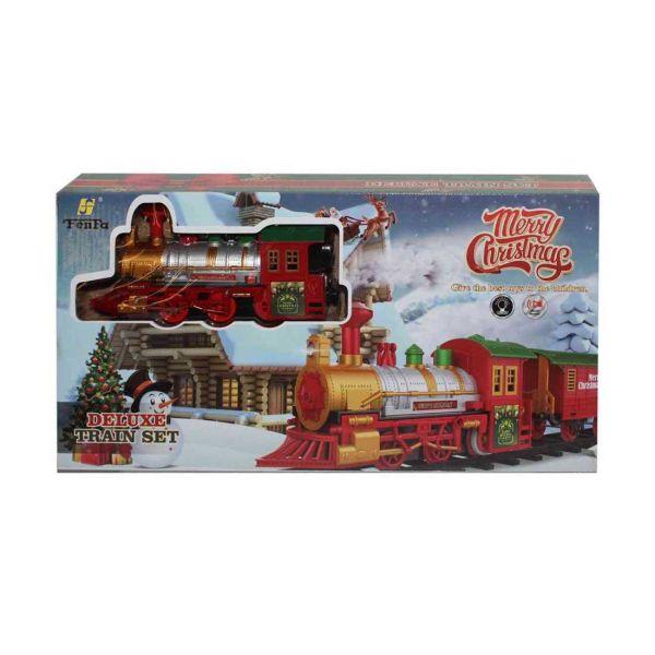 Merry Christmas karácsonyi vonat készlet